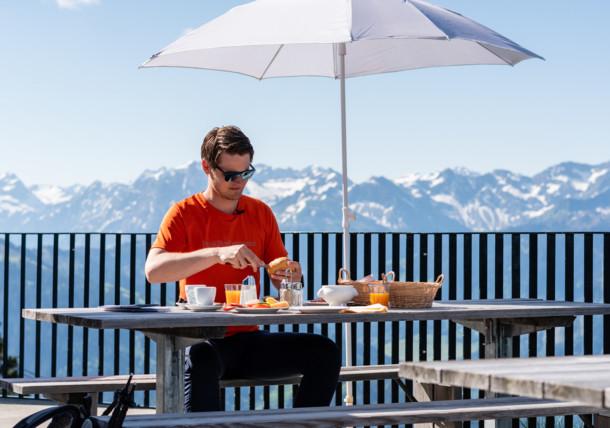 Mountain breakfast in the Bregenzerwald region