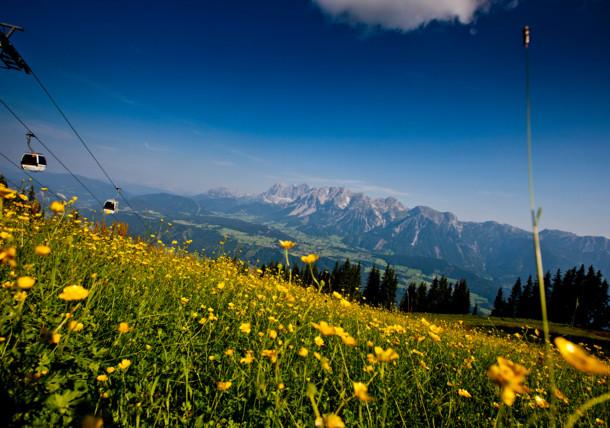 View of Dachstein Glacier