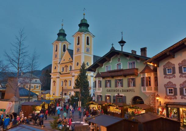 Weihnachtsmarkt in St. Johann in Tirol
