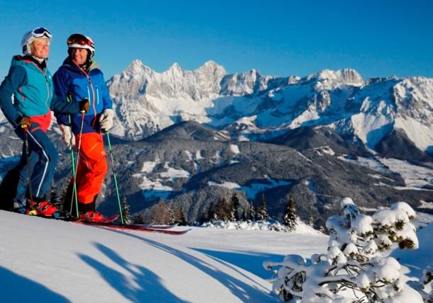 Skiing Schladming-Dachstein