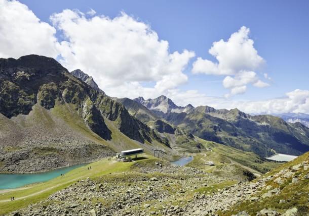 Kühtai, Innsbruck, planinarenje, žičara triju jezera