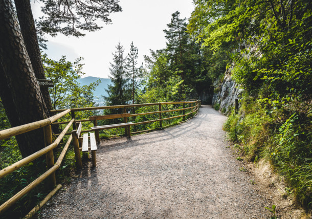 Stezka v pohoří Kufsteinerland