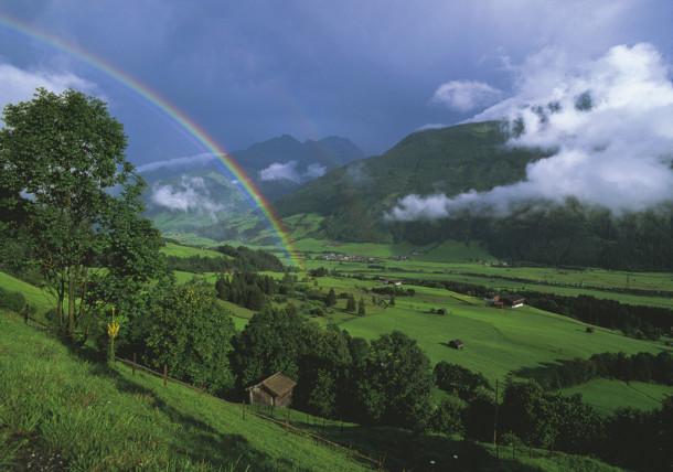 Regenbogen über Mittersill