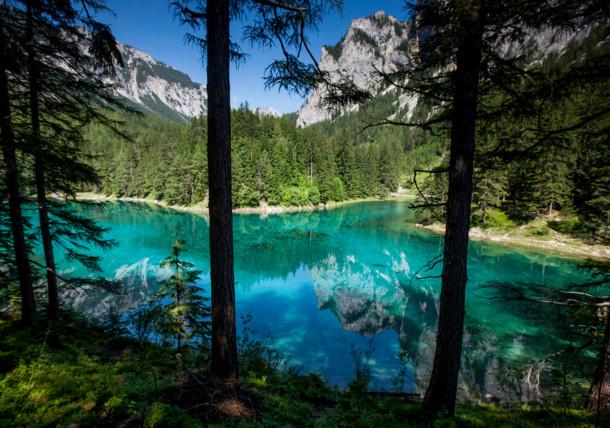 Le lac vert (Grüner See) à Tragöss