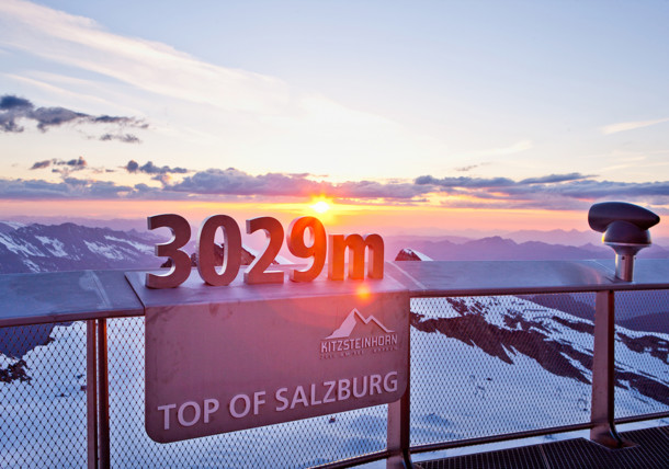 TOP OF SALZBURG, Китцштайнхорн на высоте 3029 м