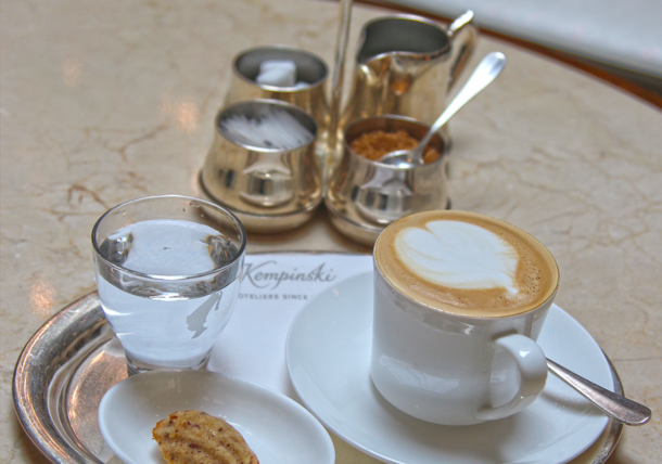 Kaffee Palais Hansen Kempinski Vienna