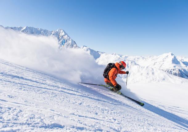 Skifahren im Klostertal