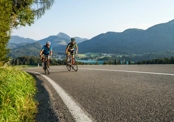Rennradregion SalzburgerLand Salzkammergut: Auf der Eddy-Merchx-Classic-Strecke beim Fuschlsee