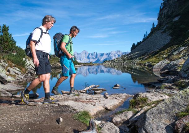 Wandern in den Schladminger Tauern in der Steiermark