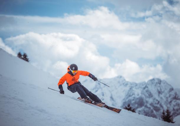 Skifahren Familie, Tiroler Zugspitz Arena