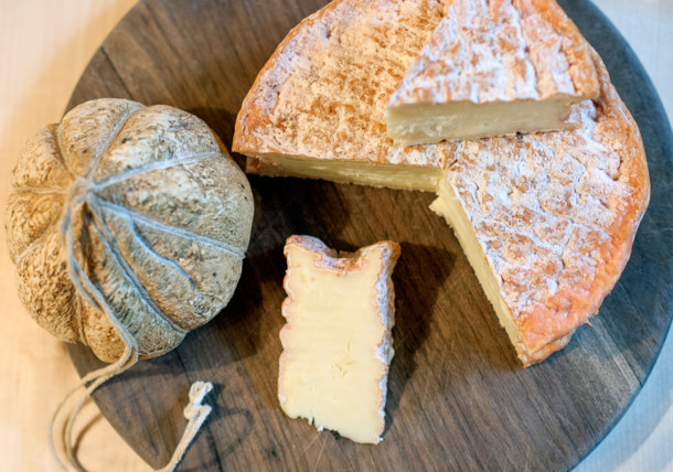 Culinary delights - cheese board