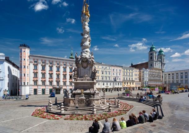 Main Square and Trinity Column