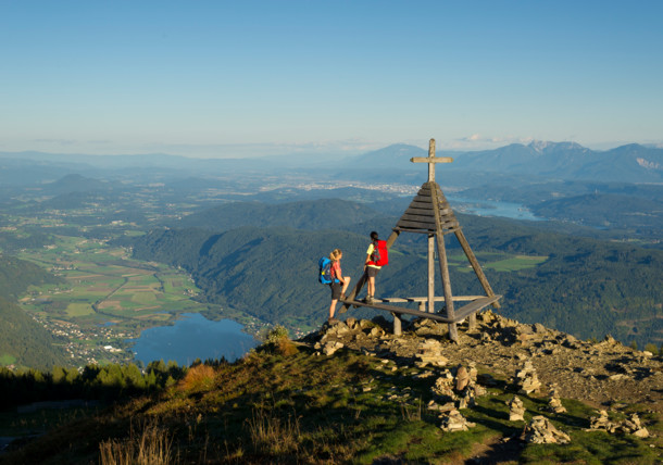 Summit cross Gerlitzen