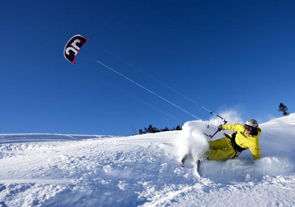 Snowkiting im SalzburgerLand