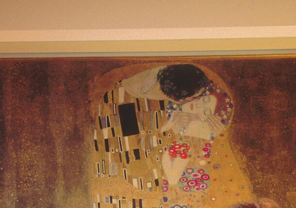 "Klimt ""The Kiss"""