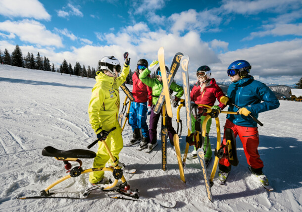 Snowbiken in Flachau