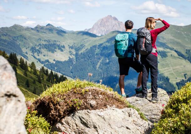 Prázdninový region Hohe Salve, KAT walk