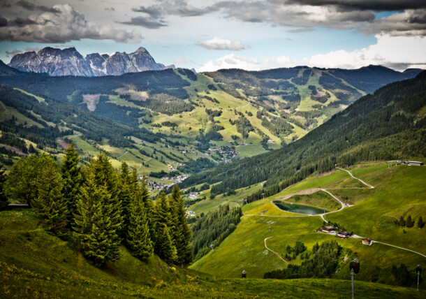 Saalbach summer scenery