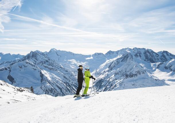 narciarstwo na zboczach lodowca, Zillertal