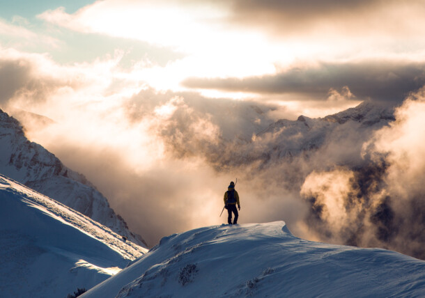 Piękny widok na Zillertal