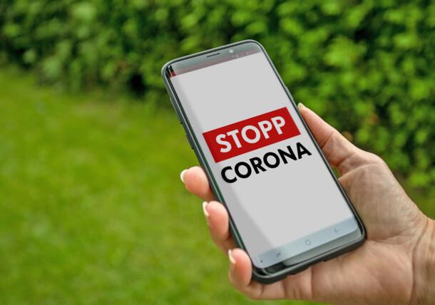 Using the Stopp Corona App