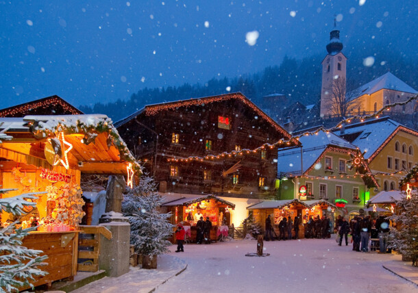 Advent in the mountains of Salzburg's Grossarltal valley