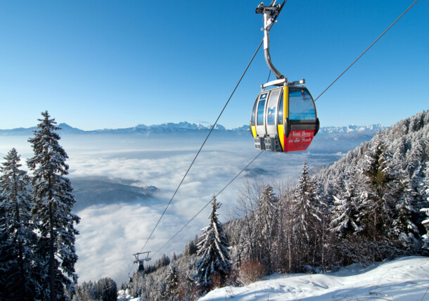 Kanzelbahn a Gerlitzen Alpe-n