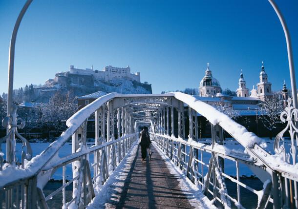 Zima v Salzburgu