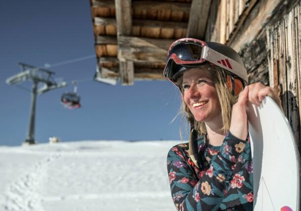 Snowboardfahren in Osttirol
