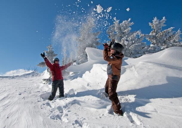 Wintervergnügen in Millstätter See