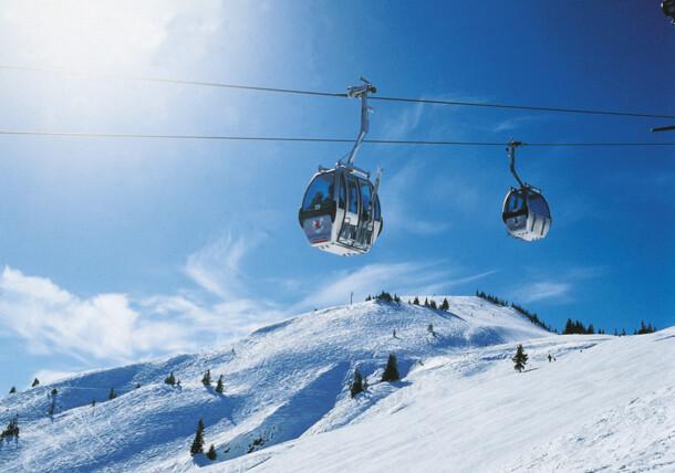 Cable carWildschoenau skiing region