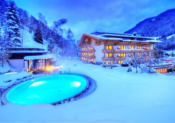 Magie de l'hiver à l'Hôtel Gartenhotel Theresia