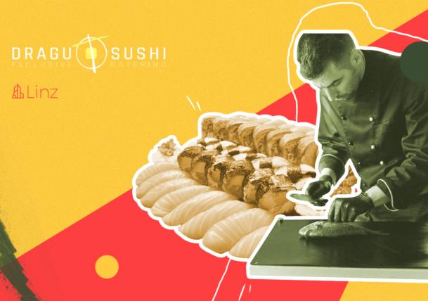 Marius Drăguț, Dragu Sushi