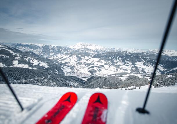Skiing in Wagrain-Kleinarl