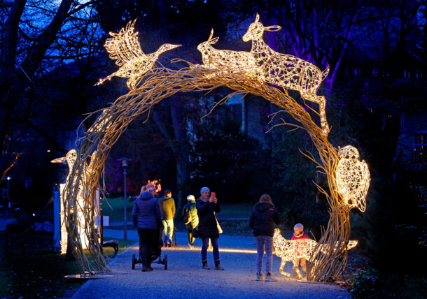LUMAGICA - magical light park in Innsbruck's Imperial Gardens