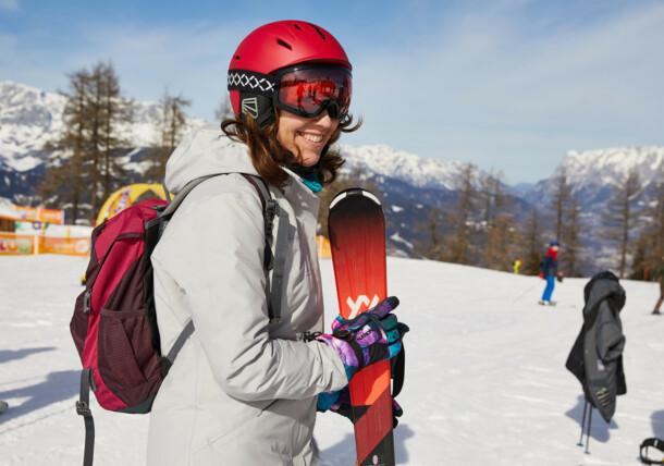 Skifahren mit der Familie in St. Johann in Salzburg