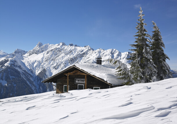 Winter in the Montafon