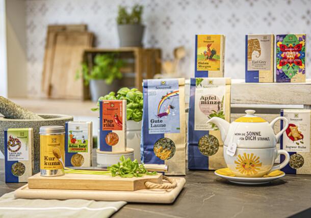 Organic products Sprögnitz herbs, Sonnentor