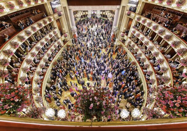 Opernball in der Wiener Staatsoper